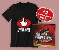 """Mr Virus"" - T-Shirt inkl. Smart Record und zwei Download-Songs"
